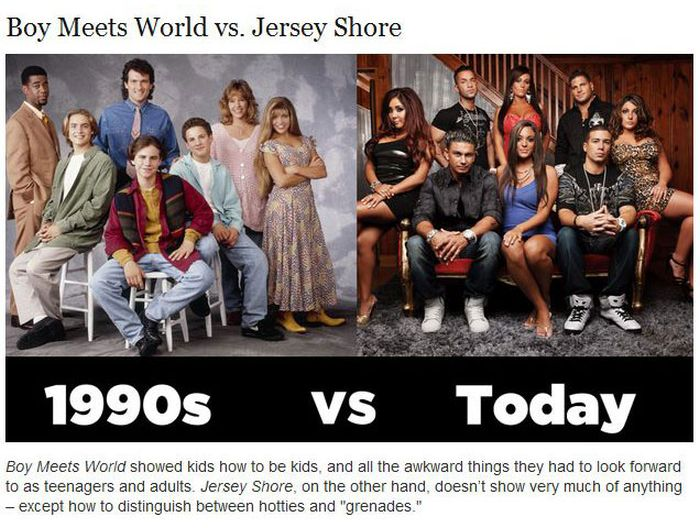 What Was Cool in the 90s Vs. Cool Today (10 pics)