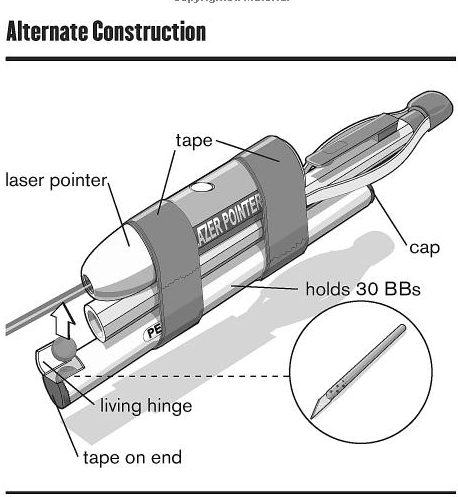 How to Build a Pencil Gun (6 pics)
