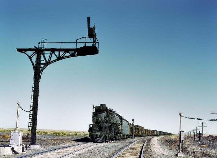 American Railroads of the 1940s (24 pics)