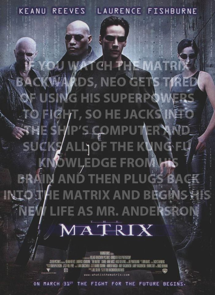Movies That Would Be Better If They Were Watched Backwards (10 pics)