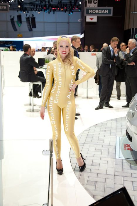 Girls of Geneva Motor Show 2012. Part 2 (68 pics)