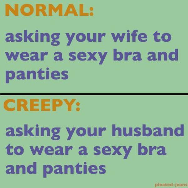 Normal vs. Creepy (11 pics)