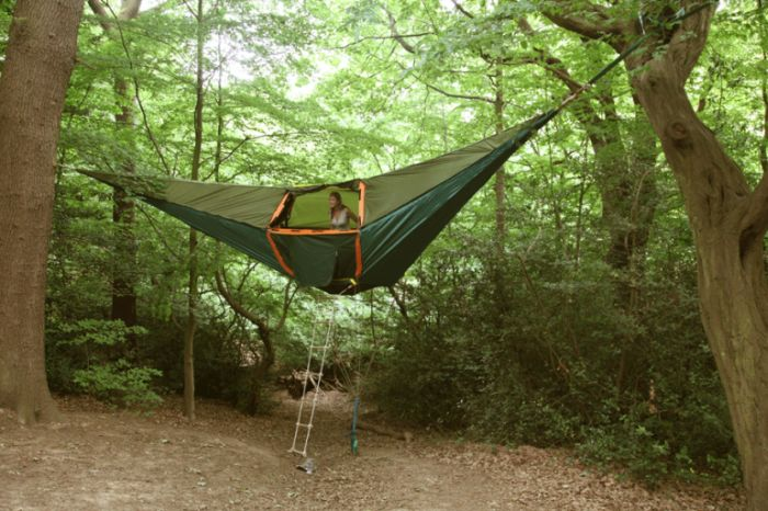 Suspended Camping Tent by Tentsile (7 pics)