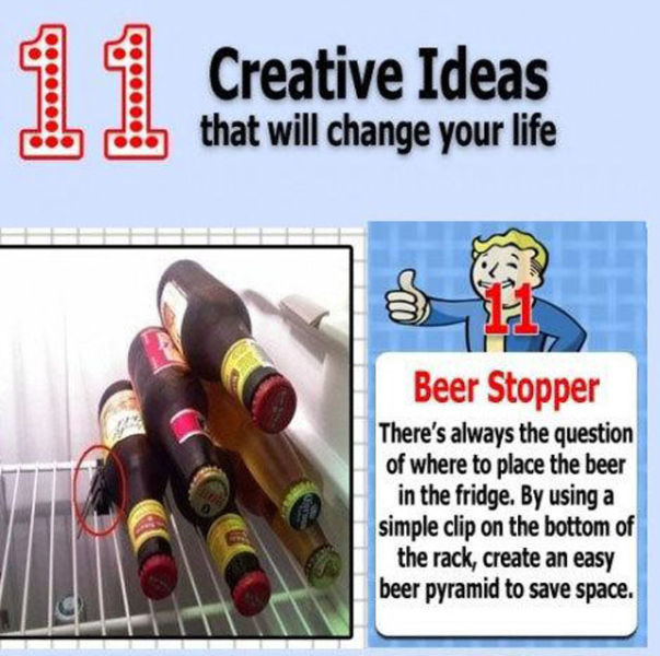 Creative Ideas for Every Household (11 pics)
