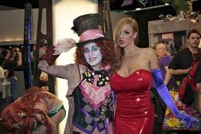 La Jessica Rabbit de la vida real!