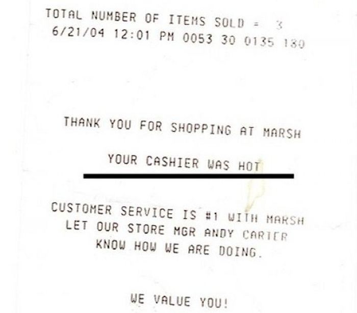 Odd Receipts (35 pics)