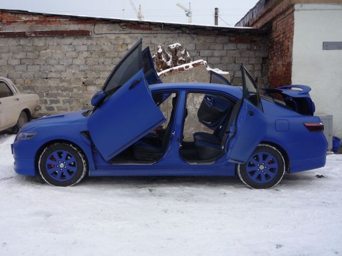 Awesome Modified Toyota Camry (31 pics)