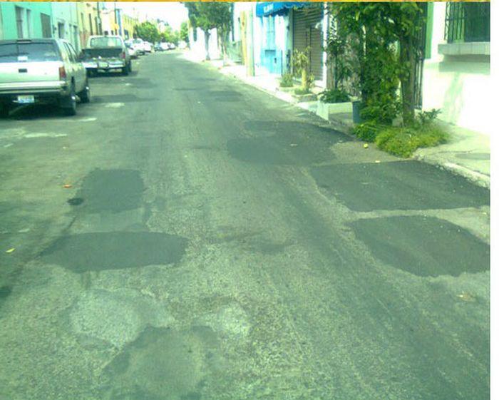 Me vs Potholes (7 pics)