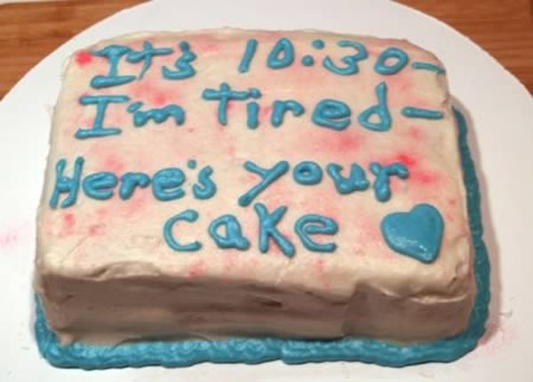 Funny Texts for a Cake (12 pics)