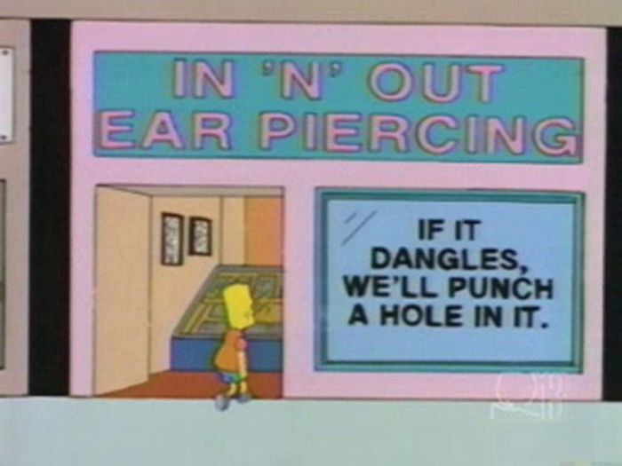 Funny Signs From The Simpsons (22 pics)
