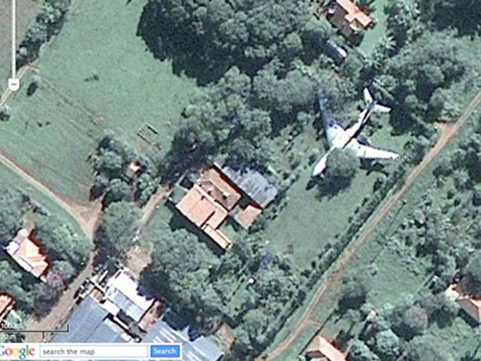 Interesting Images Found on Google Maps (22 pics)