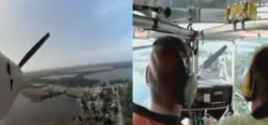 Incredible Emergency Plane Landing