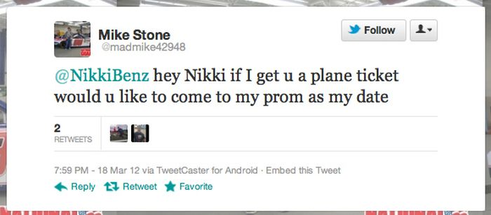 Minnesota Teen Asks Porn Stars To Prom On Twitter (17 pics)