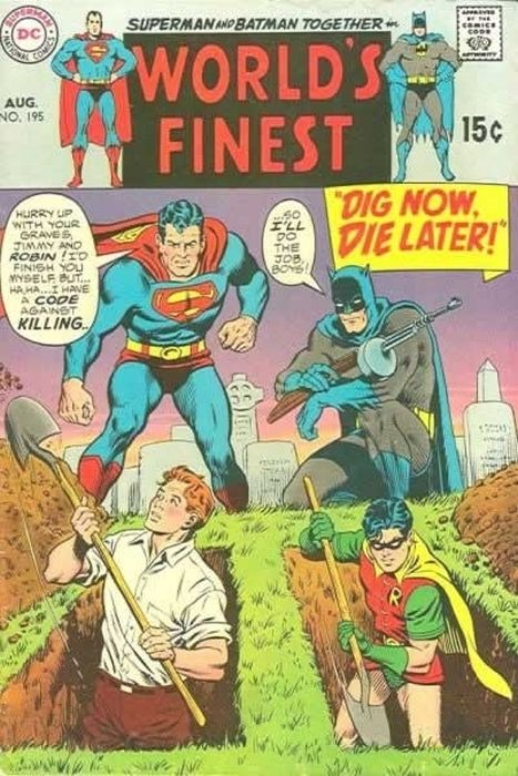 Hilarious Vintage Comic Book Covers (25 pics)