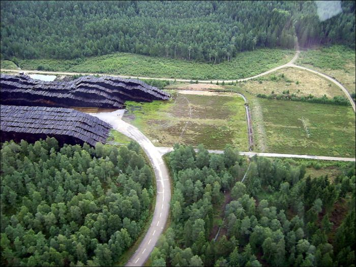 Byholma - World's Largest Timber Storage (6 pics)