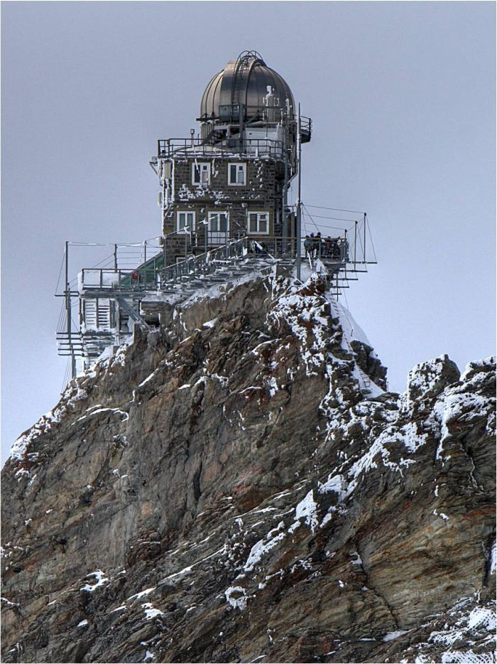 The Sphinx Observatory In Jungfraujoch Switzerland 10 Pics