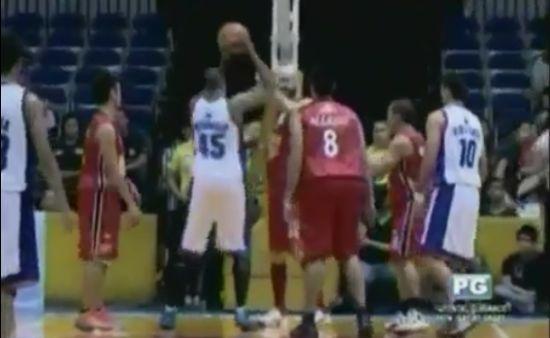 Hilarious Basketball Late Reaction