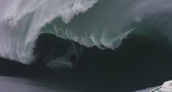 Unbelievable Huge Waves Surfing
