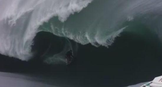 Unbelievable Huge Waves Surfing