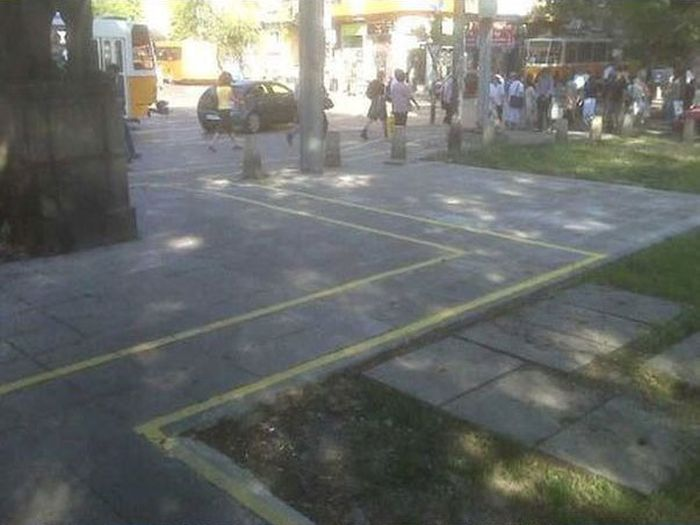 Bulgaria is the Home of the Worst Bike Lanes (12 pics)