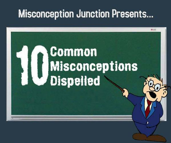 10 Common Misconceptions Dispelled (11 pics)