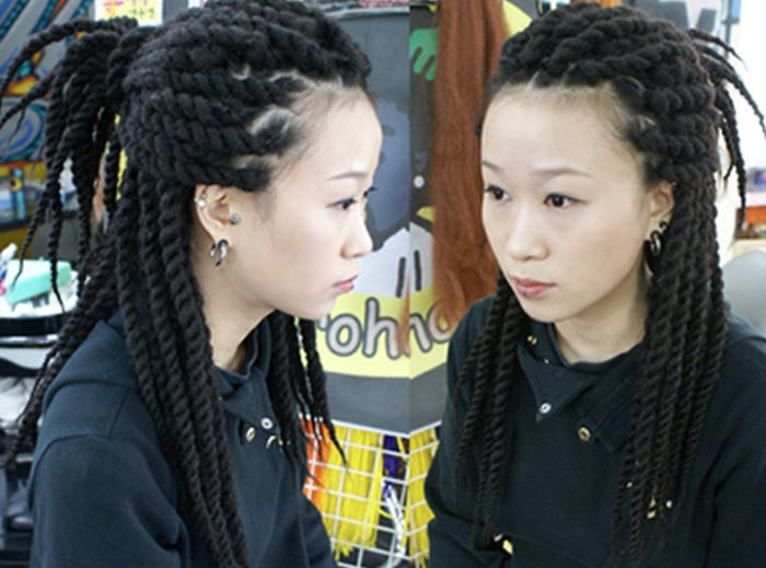 Hairstyles Of Asians (27 pics)