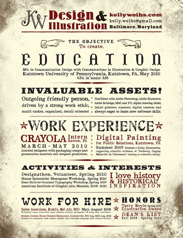 Creative Resume Designs. Part 2 (24 pics)