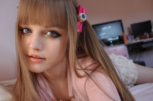 KotaKoti (Dakota Rose). Girl Who Looks like a Doll (33 pics + 3 gifs)