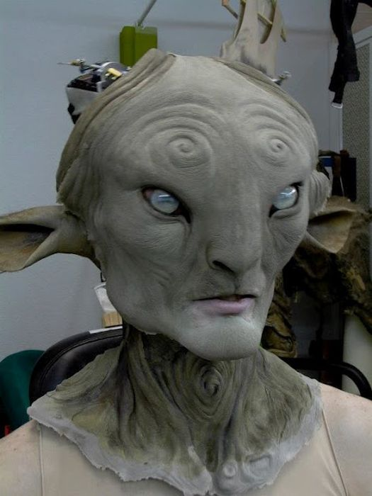 The Making of The Faun from Pan's Labyrinth (28 pics)