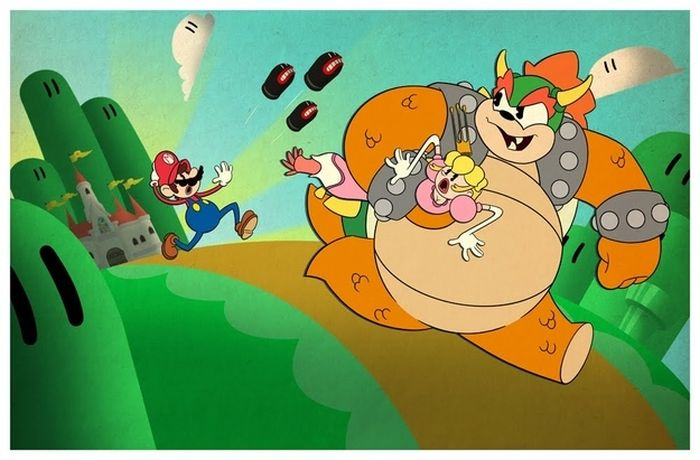 The Best of Super Mario Bros. Fan Art (99 pics)
