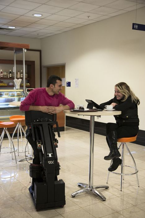 Device That Will Replace Wheelchairs for Paraplegics (42 pics)