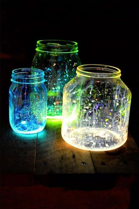 DIY Glow Jars Tutorial (10 pics)
