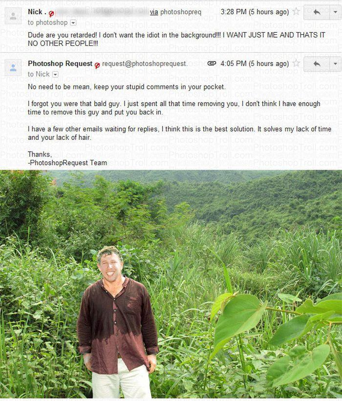 Hilarious Photoshop Trolling (7 pics)