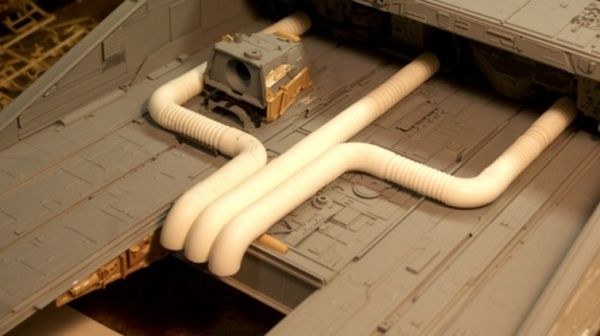 "Model of the Ship from Original ""Alien"": Nostromo (32 pics)"