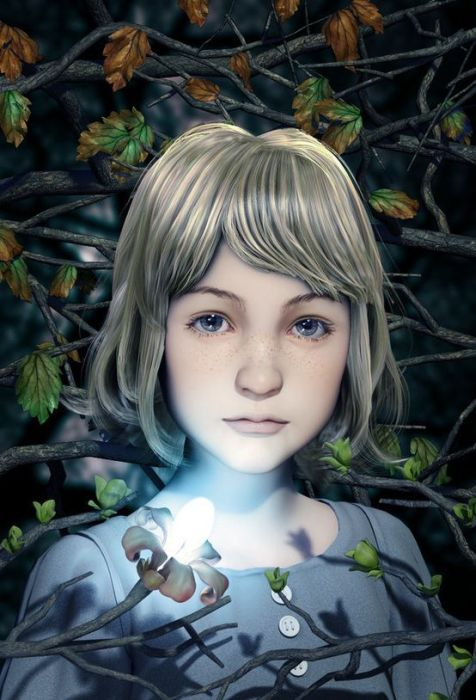 Realistic CG Portraits (50 pics)