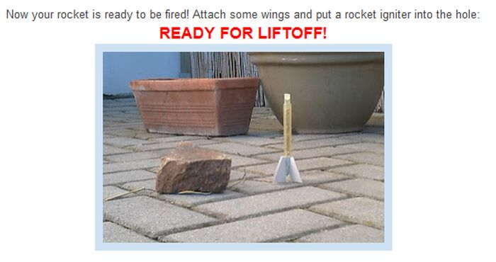 How to Build Real Rockets (6 pics)