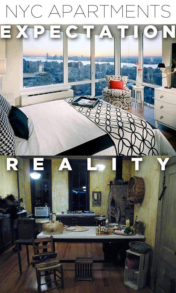 Moving To NYC: Expectations Vs Reality (10 pics)