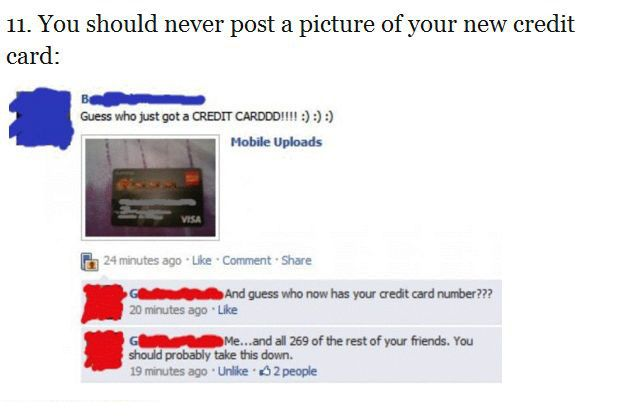 Important Lessons Learned On Facebook (32 pics)