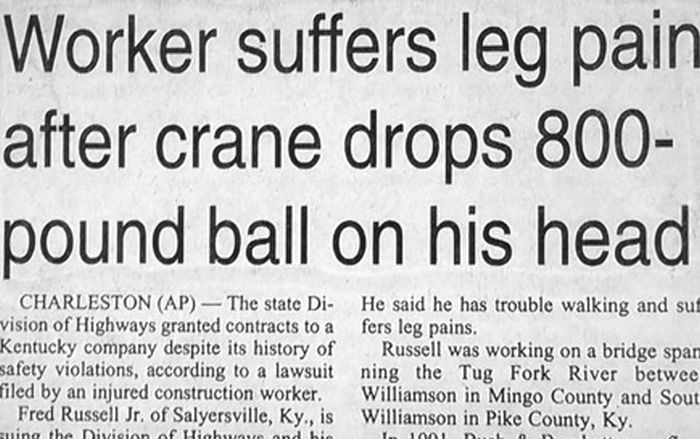Weird and Funny Newspaper Headlines and Articles (80 pics)