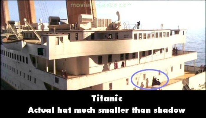 Mistakes in the Original Titanic Movie (15 pics)