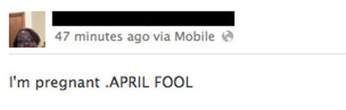 The Worst April Fools Day Jokes On Facebook (25 pics)