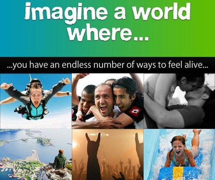 The World Is Amazing Place (1 pic)