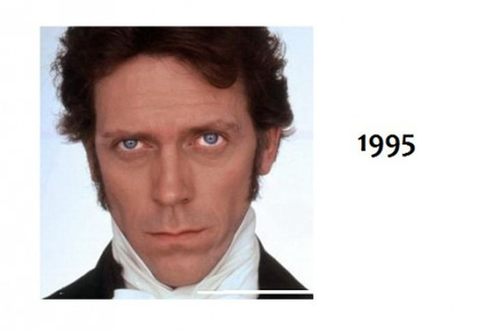 Hugh Laurie Timeline (7 pics)