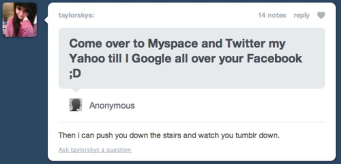 Funny Tumblr Replies (15 pics)