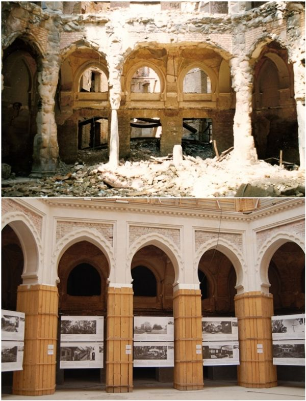 Photos of Sarajevo after the 1992-96 Siege and Now (15 pics)