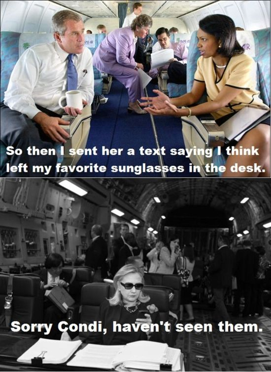 Texts from Hillary (9 pics)