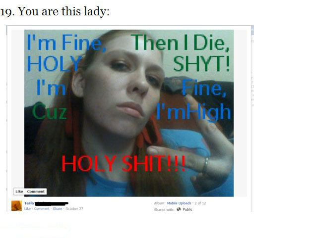 Stuff You Should Not Post on Facebook (26 pics)