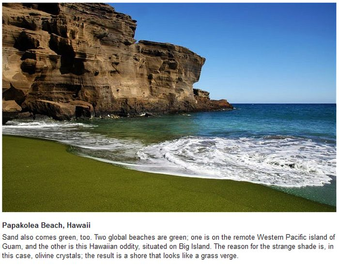The World's Weirdest Beaches (10 pics)