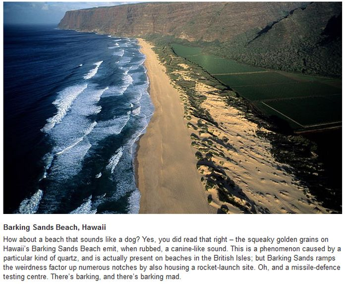 The World's Weirdest Beaches (10 pics)