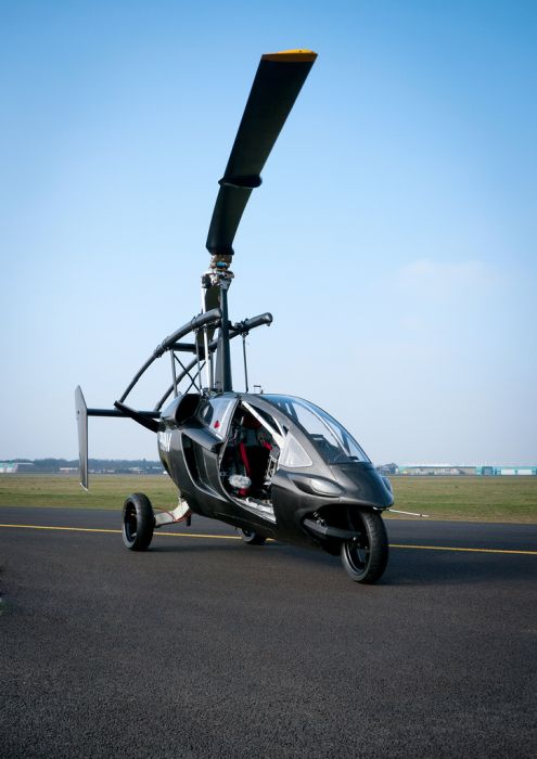 Personal Air and Land Vehicle (52 pics)
